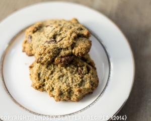 Chia Chocolate Chip Cookies [low carb, gluten free, grain free, sugar free, keto]