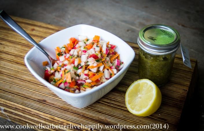 Radish & Carrot Salsa