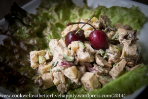 Cherry Pistachio Chicken Salad