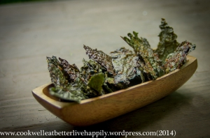 Parmesan Ranch Kale Chips