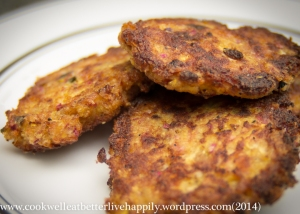 Yum! Veggie Fritters with Squash and Radishes | Cook Well, Eat Better, Live Happily