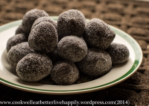 photo: chicken chocolate truffles