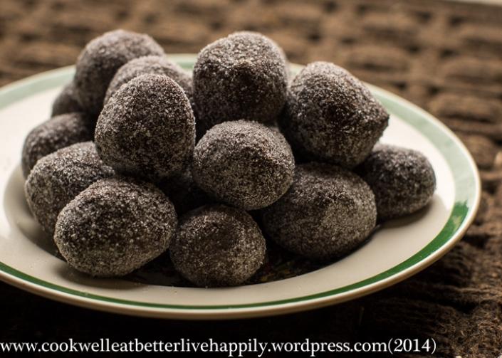 photo: chicken chocolate truffles