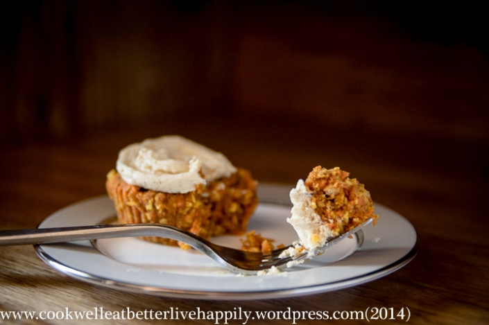 Mini Raw (Nut Free) Paleo Carrot Cakes
