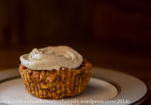 AIP Compliant Raw Carrot Cakes